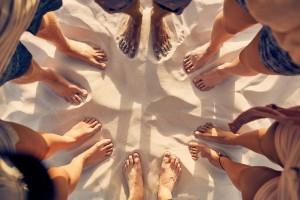 Füße Strand Klienten